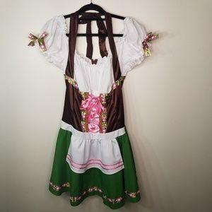 """Gretchen"" Swiss Alps Costume size 1X/2X (16-20)"